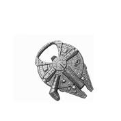 Star Wars Millenium Falcon Metal Bottle Opener Zinc Alloy - Non-magnetic Opener 6.1cm Version