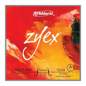 D'Addario Zyex Viola Single A String, Medium Scale, Medium Tension