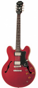 Epiphone Dot Archtop Electric Guitar, Cherry