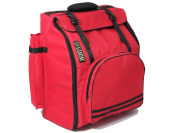 D'Luca DAG-96/120-RD Pro Series Accordion Gig Bag for 96/120 Bass Piano Accordions, Red