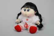 Soft Knit Doll Brunette