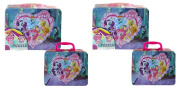 My Little Pony Lunch Tin Box with 48 pc puzzle inside x 2