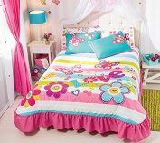 """Special Edition """"Fiori Butterfly"""" Bedspread Set"""