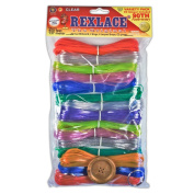Pepperell Rexlace Cord 140m 2 Rings 6 lanyard Snaps EZ Gimper Beading line Kit