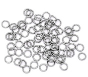 PEPPERLONELY Brand 500PC Stainless Steel Open Jump Rings 5mm