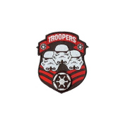 Star Wars Clone Storm Trooper Shield Iron On Patch SW45