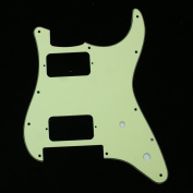 (G23) Charvel SO CAL Style Replacment Guitar Pickguard ,3ply Mint Green