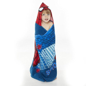 Marvel Spider-Man Hooded Bath Wrap
