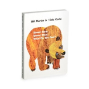 Brown Bear, Brown Bear. What Do You See. Board Book By Eric Carle