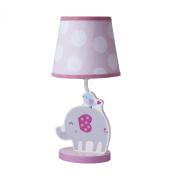 Bedtime Originals Bubblegum Jungle Lamp with Shade and Bulb