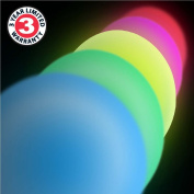 ENHANCE Colour Changing Children's LED Night Lamp Light and Remote Control with Dynamic Colour Changing LEDs , 4 Dynamic Modes , Battery or AC Adapter Power - Perfect for Babies , Infants , Children , Teens and all ages!