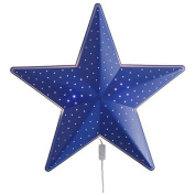 Children's Blue Star Wall Lamp, Bulb Is Included