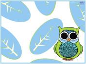 KidKusion High Chair Splat Mat, Owl