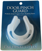Cardinal Gates Door Pinch Guard, White