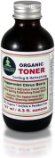 Organic Facial TONER - Cooling & Refreshing Peppermint Citrus Berry * 120ml in a Glass Bottle * 95% Certified Organic Ingredients * Sulphate & Paraben Free * Experience This Premium Organic TONER & A Wonderful Cleansing, Exfoliating, Cooling & Refre ..