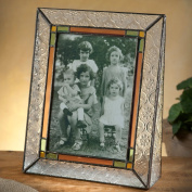 J Devlin Photo Frame 5x7 Vertical Vintage, Sage, Amber & Rose