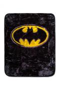 Batman Emblem Luxury Plush Blanket Super Soft 110cm x 130cm 100% Polyester Fibre