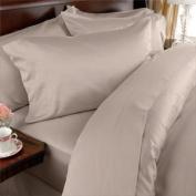 Elegance Linen ® Wrinkle-Free- 1500 Thread Count FULL/QUEEN Size Egyptian Quality 3pcs DUVET COVER, Beige/TAN