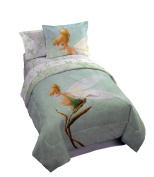 Marvel BED Tink 'Water Colour' Comforter and Sham, Fairies