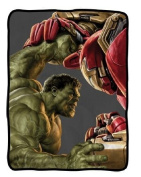 Officially Licenced Marvel Avengers 2 Age of Ultron Themed Fleece Throw Blanket