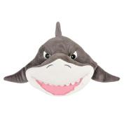 One Plush Great White Shark Plush Throw Pillow - 28cm