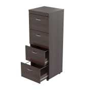 Inval America Uffici Commercial Collection 4-Drawer File Cabinet