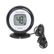 AcuRite 02042 Digital Thermometer with 3m Temperature Sensor Probe and Humidity