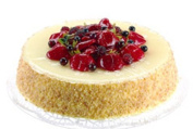 Fake Artificial Food Cake cheese cake strawberry