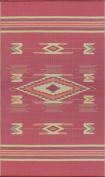 Mad Mats Navajo Indoor/Outdoor Floor Mat, 1.2m by 1.8m, Dark Red