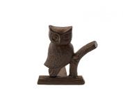 "Cast Iron Owl Door Stop | Decorative Door Stopper Wedge | with Padded Anti-scratch Felt Bottom | Vintage Design | 6x6.5x6.3"" by Comfify"
