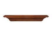 Pearl Mantels 418-48-90 Homestead Wood 120cm Wall Shelf, Antique Birch