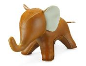 Zuny Series Elephant (Abby) Tan Animal Bookend