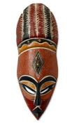 Nigerian wood mask, 'God's Gifts'