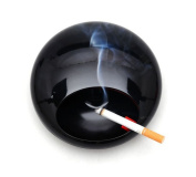 Portable Rotation Round Ashtray with Lids Melamine Porcelain Smoke Soot Vat Lighters Smoking Accessories