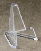 Set of 12 Mini Acrylic Easel Stands, 5.7cm H