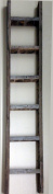 Decorative Ladder - Reclaimed Old Wooden Ladder 1.8m Rustic Barn Wood