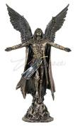 Ascending Saint Michael Archangel Statue 28cm