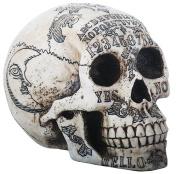 OUIJA Symbols Skull Skeleton Head Statue Figurine