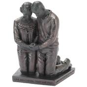 Husband and Wife Praying Figurine