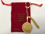 Feng Shui the Big Money Magic Mirror Keychain for the 2/7 Hotu