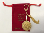 Feng Shui the Big Profits Mirror Keychain for the 4/9 Hotu