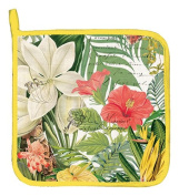 Michel Design Works Cotton Potholder, Vanilla Palm