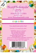 ScentSationals, Cupcake, Wickless Fragrance Cubes, Scented Wax