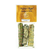 Cedar, White and Blue Sage Smudge Stick 3 pack