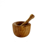 French Home Olive Wood Pestle, 15cm