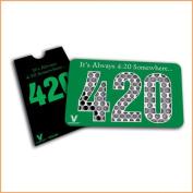 420 Somewhere -V Syndicate Grinder Card