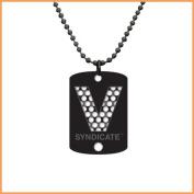 Classic V Black- Dog Tag -V Syndicate Grinder Cards