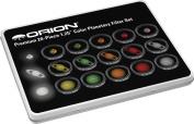 Orion 5453 Premium 3.2cm 20-Piece Colour Planetary Filter Set