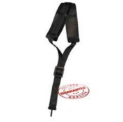 LM Products BIA3N Alto/Tenor Padded Saxophone Strap - Black