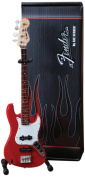 Axe Heaven FJ-001 Fender Jazz Classic Red Finish Miniature Bass Replica